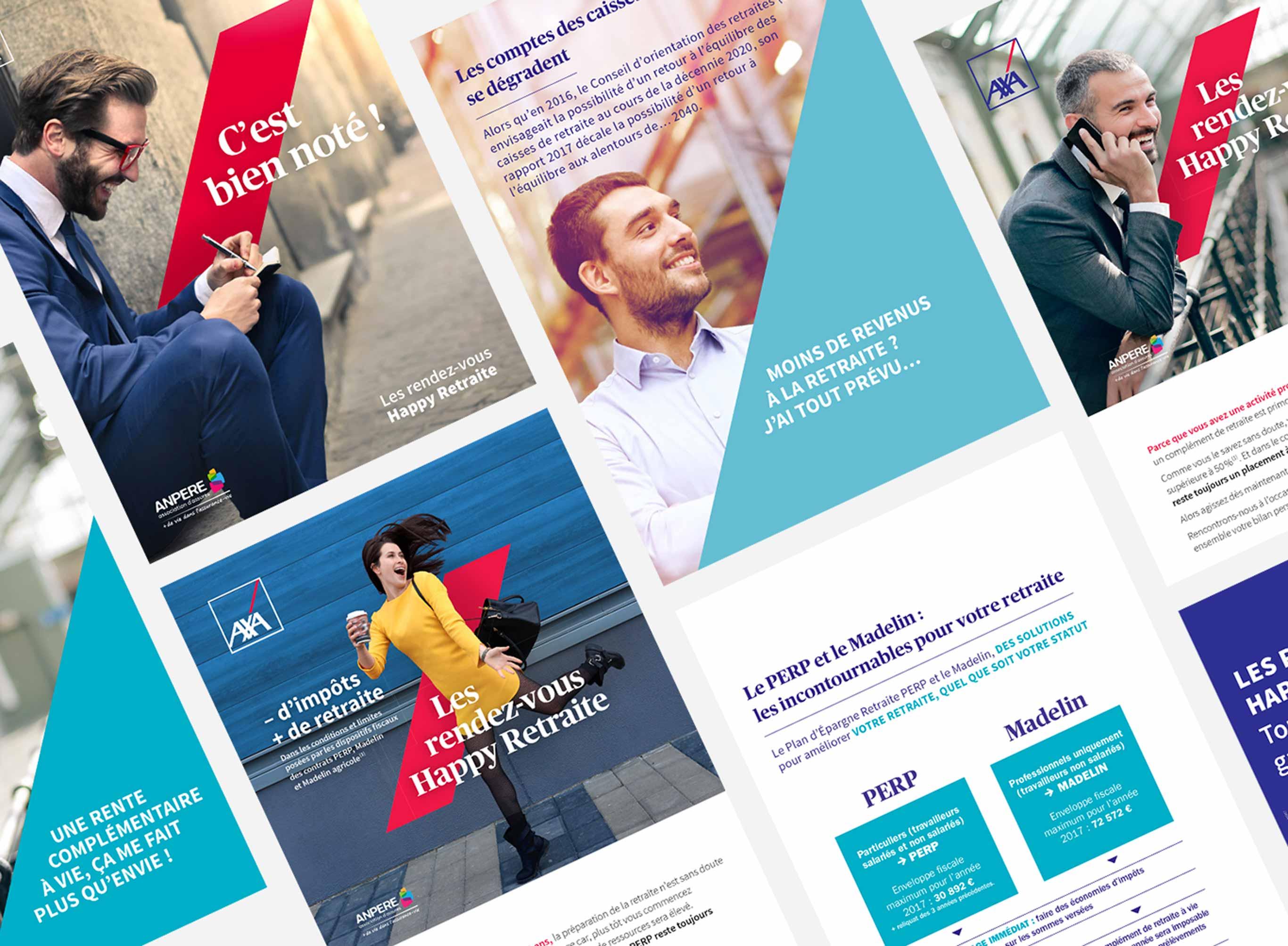 La ressource de pouvoir offrir à AXA une nouvelle campagne Marketing chaque année